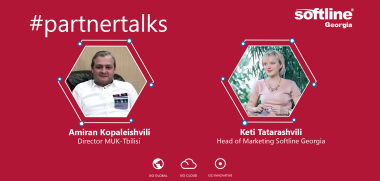 #partnertalks with MUK-Tbilisi